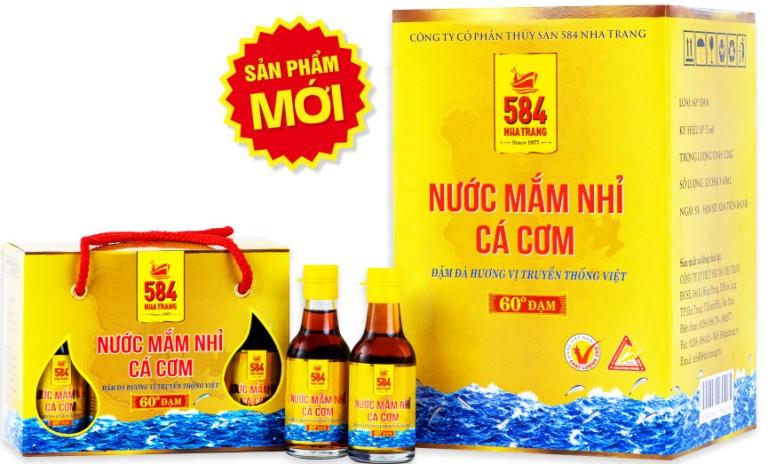 Nước mắm Nhỉ Cá cơm - 60 độ đạm - 60 ml