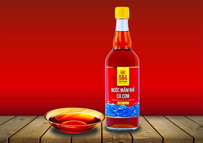 Nước mắm Nhỉ Cá cơm - 40 độ đạm (510 ml)